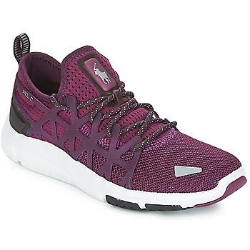 Schoenen Dames Lage sneakers Polo Ralph Lauren TRAIN 200 Violet