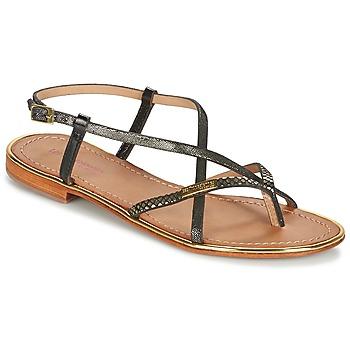 Schoenen Dames Sandalen / Open schoenen Les Tropéziennes par M Belarbi MONACO Zwart / Goud