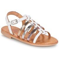 Schoenen Meisjes Sandalen / Open schoenen Les Tropéziennes par M Belarbi MONGUE Wit