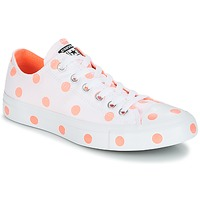 Schoenen Dames Lage sneakers Converse Chuck Taylor All Star-Ox Wit / Orange