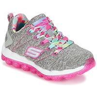 Schoenen Meisjes Lage sneakers Skechers SKECH-AIR Grijs / Roze