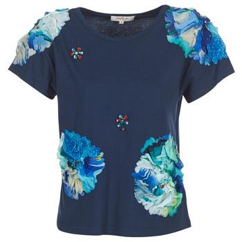 Textiel Dames T-shirts korte mouwen Derhy BANGKOK Marine