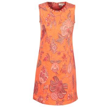 Textiel Dames Korte jurken Derhy ANTILLAIGAN Orange