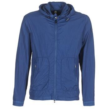 Textiel Heren Windjacken Serge Blanco MONTREAL Blauw