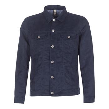 Textiel Heren Jasjes / Blazers Serge Blanco VARGAS Marine