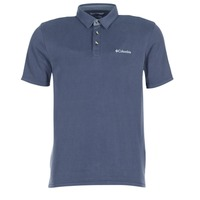 Textiel Heren Polo's korte mouwen Columbia NELSON POINT POLO Marine