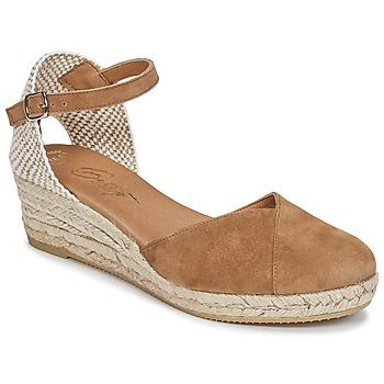 Schoenen Dames Sandalen / Open schoenen Betty London INONO  camel