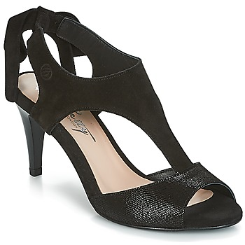 Schoenen Dames Sandalen / Open schoenen Betty London INILAVE Zwart