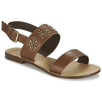 Schoenen Dames Sandalen / Open schoenen Betty London IKIMI Brown