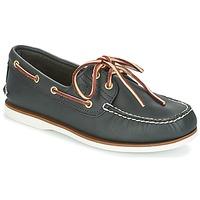 Schoenen Heren Bootschoenen Timberland CLASSIC 2 EYE NAVY / Smooth