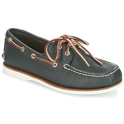Schoenen Heren Bootschoenen Timberland CLASSIC 2 EYE Blauw