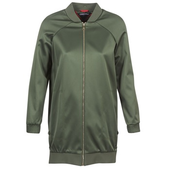 Textiel Dames Wind jackets Tommy Hilfiger MABEL-LONG-BOMBER Kaki