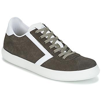 Schoenen Heren Lage sneakers Yurban RETIPUS Grijs / Kaki