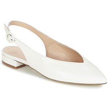 Schoenen Dames Ballerina's Fericelli IKIRUA Wit