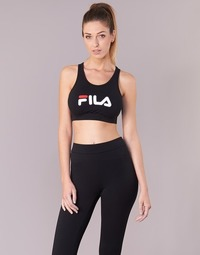 Textiel Dames Sport BHs Fila OTHER CROP TOP Zwart