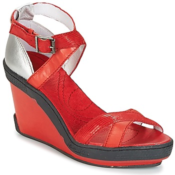 Schoenen Dames Sandalen / Open schoenen Pataugas GOUY Rood