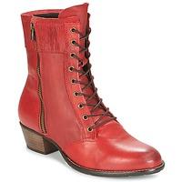 Schoenen Dames Enkellaarzen Dkode RONNIE Rood