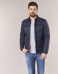 Textiel Heren Dons gevoerde jassen Schott NIELS Marine