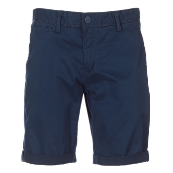 Textiel Heren Korte broeken / Bermuda's Teddy Smith SHORT CHINO Marine