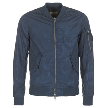 Textiel Heren Wind jackets Teddy Smith BAILEY Marine