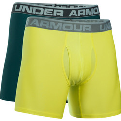 Textiel Heren Boxershorts Under Armour Boxers UA Original 6 (Lot x2) Groen