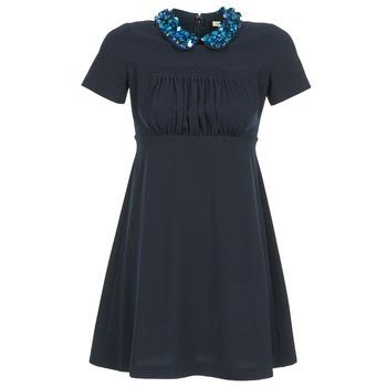 Textiel Dames Korte jurken Manoush COMMUNION Blauw