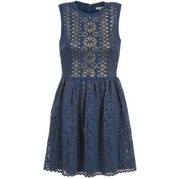 Textiel Dames Korte jurken Manoush NEOPRENE Blauw / Goud