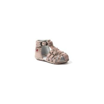 Schoenen Meisjes Sandalen / Open schoenen GBB SAMIRA Vte / Roze / Huidskleur / Dpf / Zabou