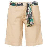 Textiel Dames Korte broeken / Bermuda's Guess BENARIO Beige