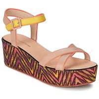 Schoenen Dames Sandalen / Open schoenen Paul & Joe Sister JENI Beige / Multikleuren