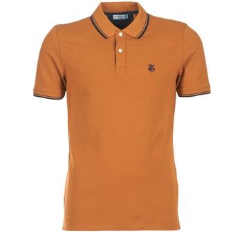 Textiel Heren Polo's korte mouwen Selected SEASON Brown