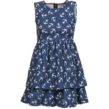 Textiel Dames Korte jurken Kling ANCORINE Marine