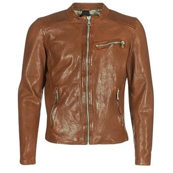 Textiel Heren Leren jas / kunstleren jas Redskins CROSS Cognac
