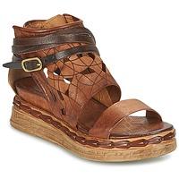 Schoenen Dames Sandalen / Open schoenen Airstep / A.S.98 LAGOS Brown