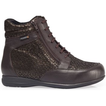 Schoenen Dames Hoge sneakers Calzamedi ES  DIABÉTICOS ESCAMAS W MARRON