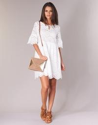 Textiel Dames Korte jurken Betty London INNATU Wit