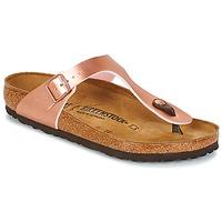 Schoenen Dames Slippers Birkenstock GIZEH Roze