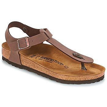 Schoenen Dames Slippers Birkenstock KAIRO Brown