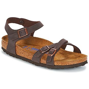 Schoenen Dames Sandalen / Open schoenen Birkenstock KUMBA SFB Brown