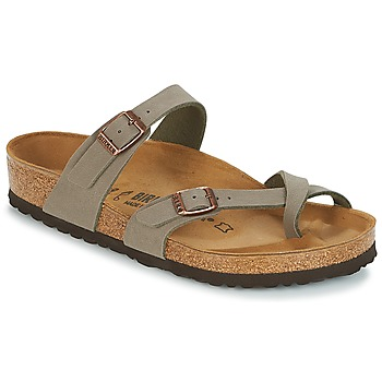 Schoenen Dames Slippers Birkenstock MAYARI Grijs