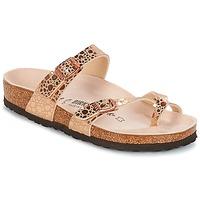 Schoenen Dames Slippers Birkenstock MAYARI Roze