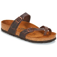 Schoenen Dames Slippers Birkenstock MAYARI Brown