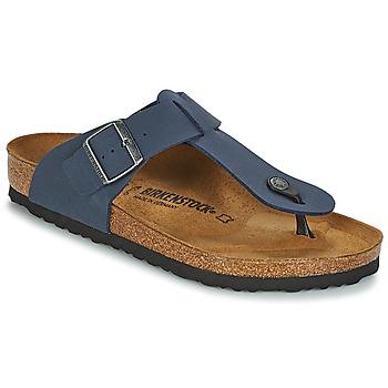 Schoenen Heren Slippers Birkenstock MEDINA Blauw