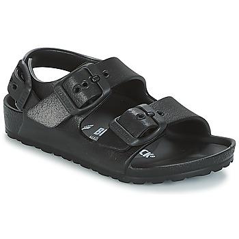 Schoenen Jongens Sandalen / Open schoenen Birkenstock MILANO-EVA Zwart