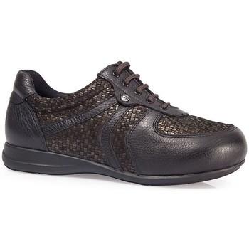 Schoenen Dames Lage sneakers Calzamedi DIABÉTICO PALA ELÁSTICA W MARRON