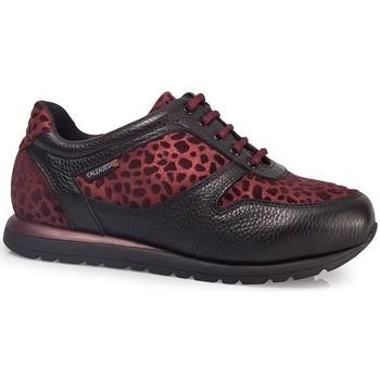 Schoenen Dames Lage sneakers Calzamedi DEPORTIVAS  ESTAMPADO W BURDEOS
