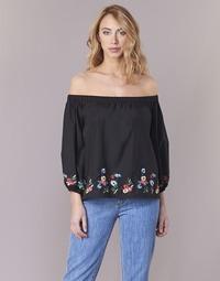 Textiel Dames Tops / Blousjes Moony Mood IFITI Zwart