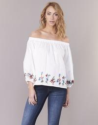 Textiel Dames Tops / Blousjes Moony Mood IFITI Wit