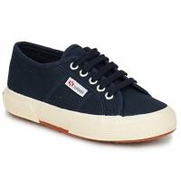 Schoenen Kinderen Lage sneakers Superga 2750 KIDS Marine