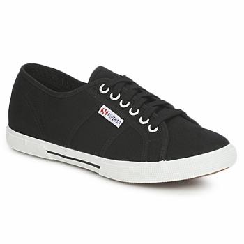 Schoenen Lage sneakers Superga 2950 COTU Zwart
